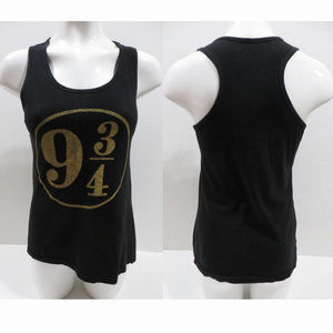 Harry Potter top Small Platform 9 3/4 graphic tank